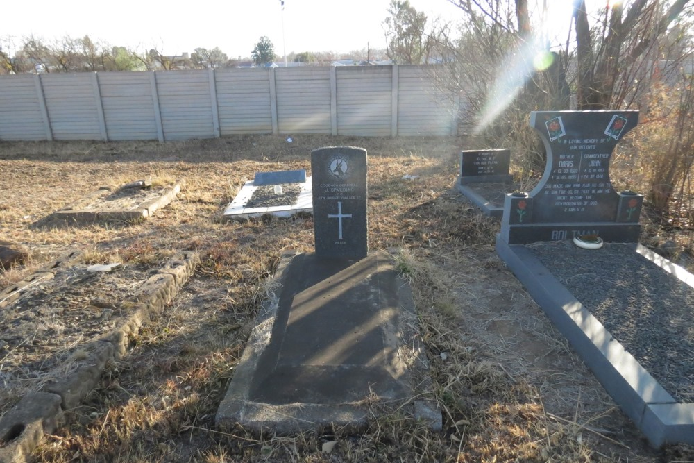 Commonwealth War Grave Falkirk Street Cemetery