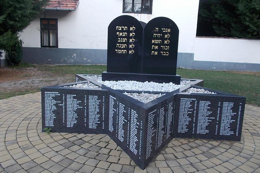 Holocaustmonument Mosonmagyaróvár