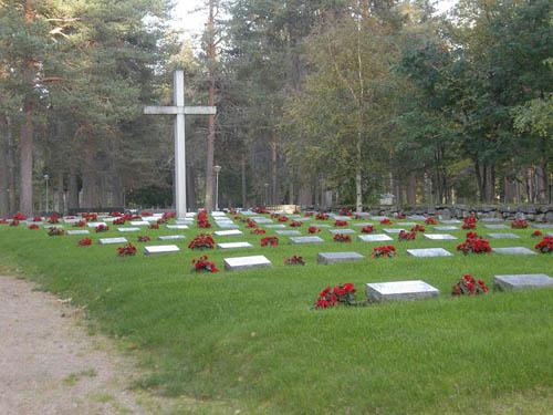 Finnish War Gravrs Posio