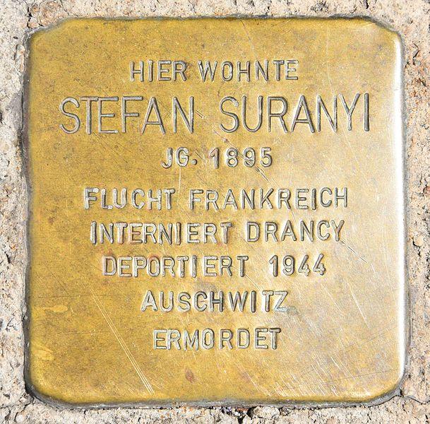 Stumbling Stones Fischauer Gasse 17