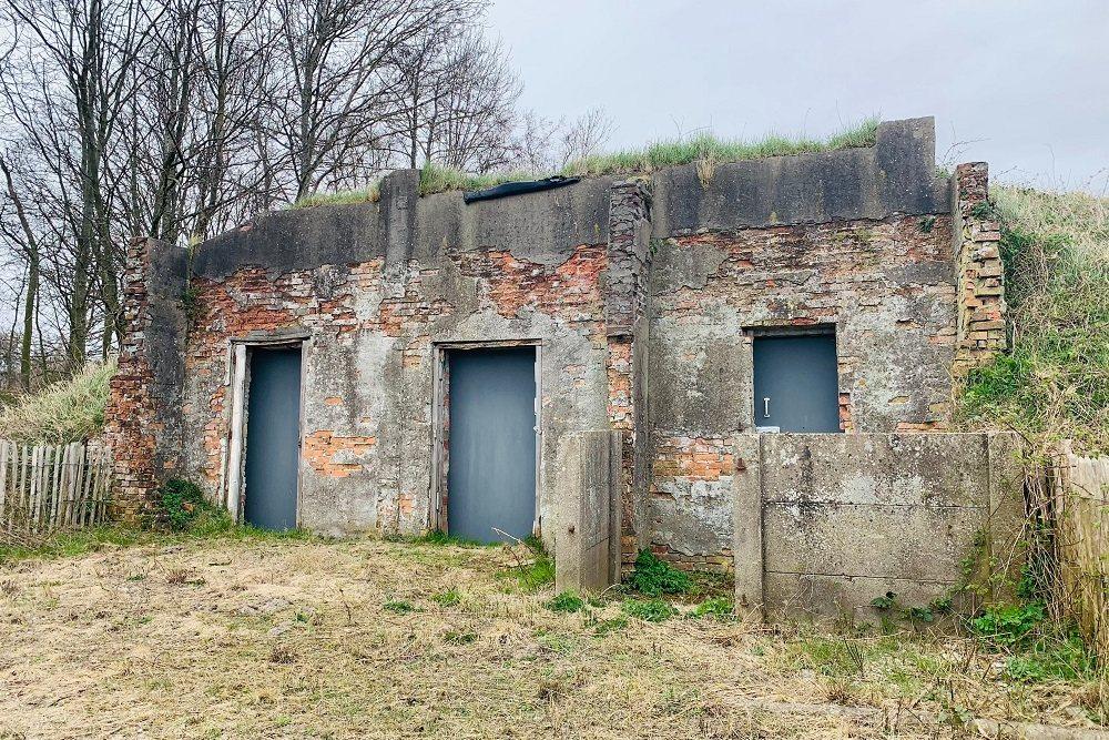 Bunkers bezoeken langs de kust