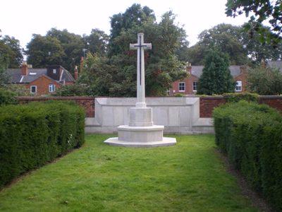 Oorlogsgraven van het Gemenebest Reading Cemetery
