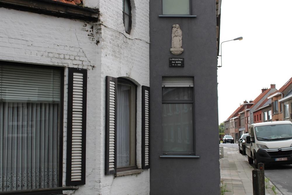 Commemorative Plaque Brugstraat Ardooie