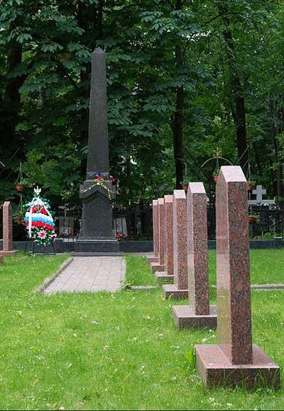 Sovjet Oorlogsgraven Rogozhskoye