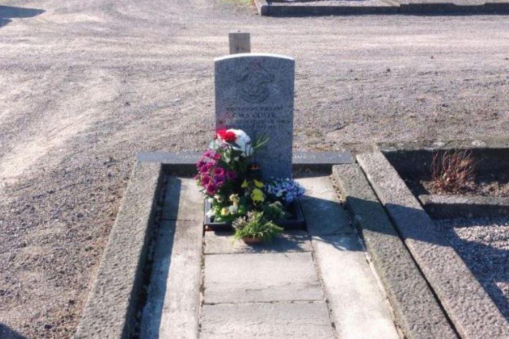 Oorlogsgraf van het Gemenebest Begraafplaats Larvik