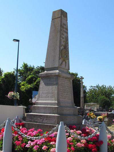 War Memorial Saint-Aubin-d'Arquenay