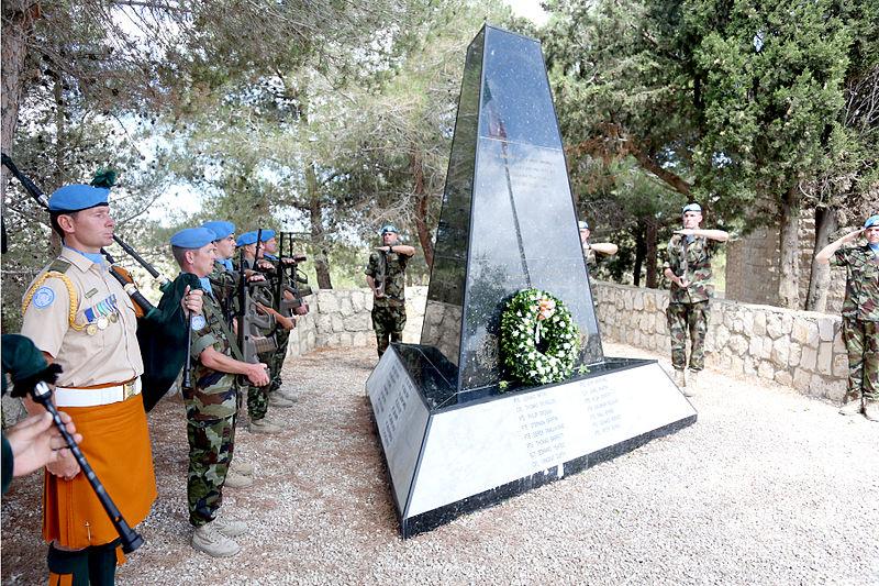 Monument Omgekomen Ierse Militairen