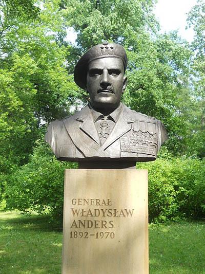 Busts Jordana Park Cracow