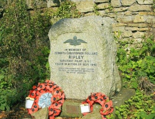 Monument Crash Spitfire N 3173