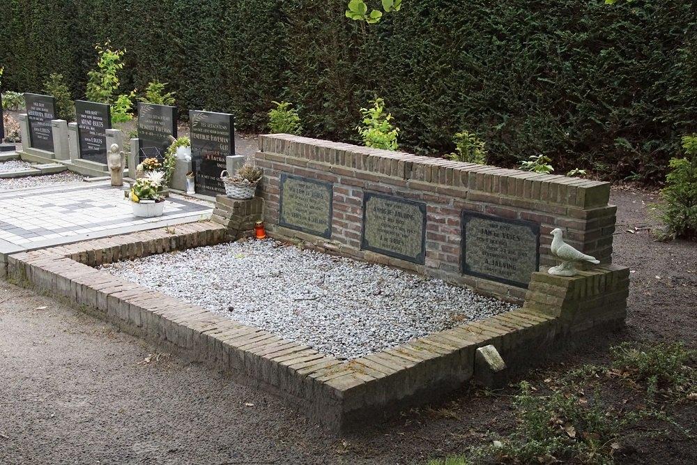 Graven Burgerslachtoffers Algemene Begraafplaats Nieuw-Dordrecht