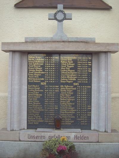 War Memorial Dietelskirchen