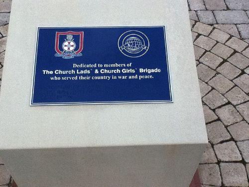 Church Lads' and Church Girls' Brigade Memorial