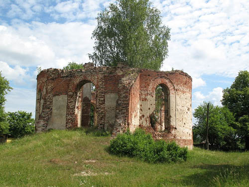 Ruins Church Chernysheno