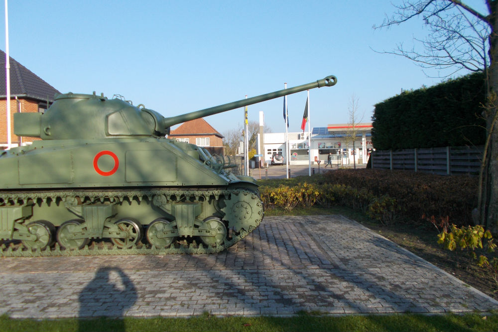 M4A2 Sherman Tank Hechtel
