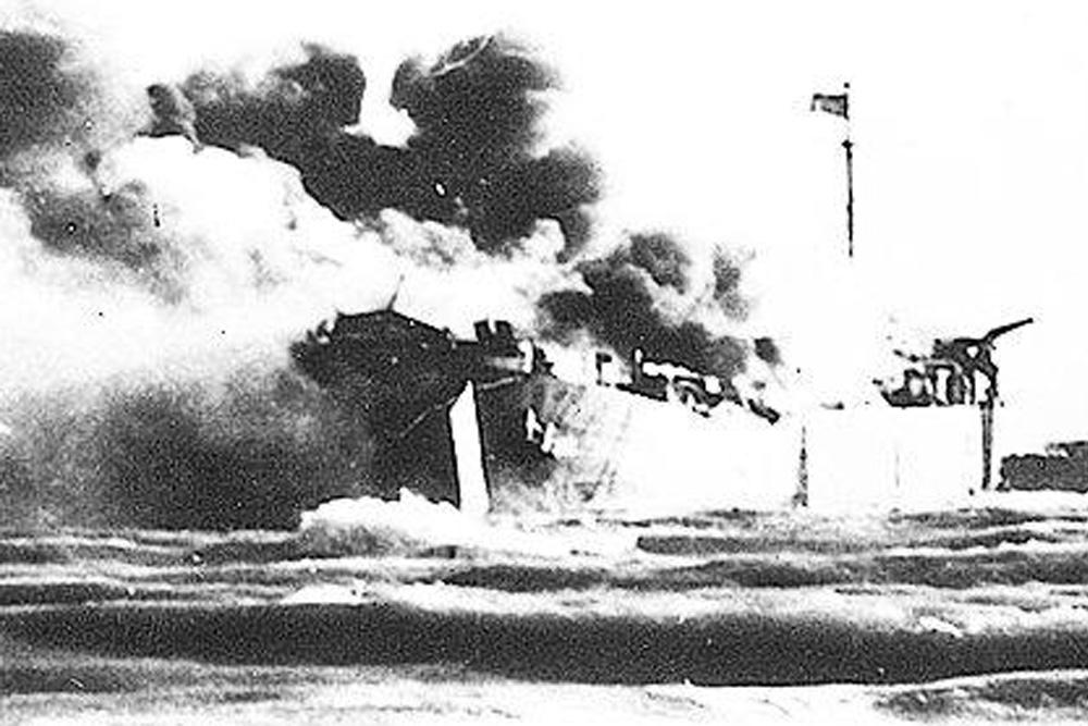 Shipwreck U.S.S. LST-313