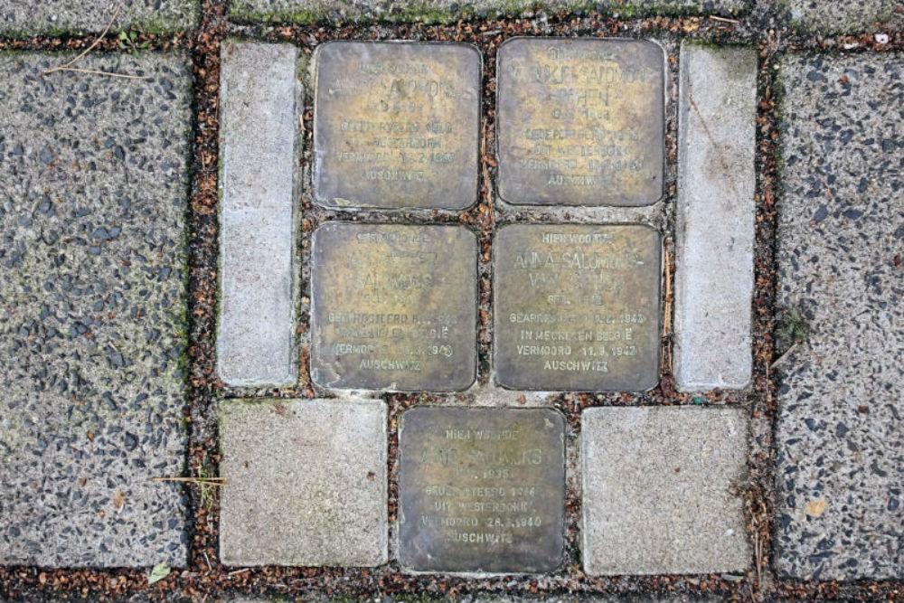 Stumbling Stones Dr. D. Bosstraat 1