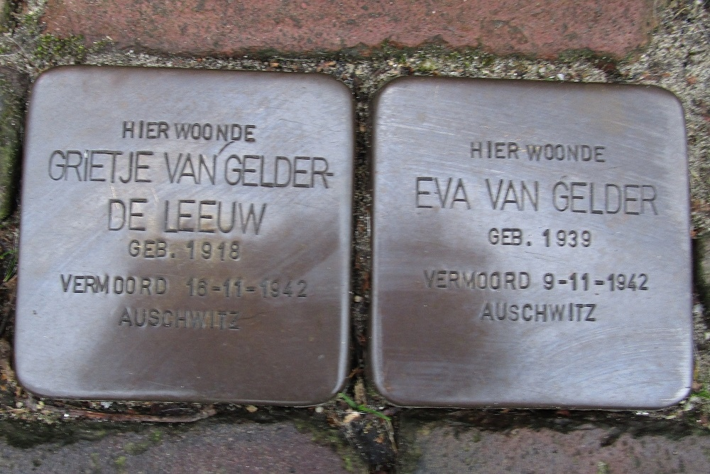 Remembrance Stones Brugstraat 27