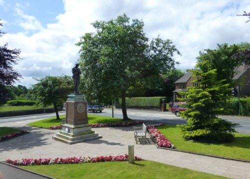 Oorlogsmonument Egerton, Eagley, Dunscar en Bromley