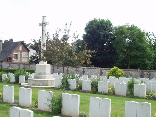 Commonwealth War Graves Cemetery Bois-Guillaume