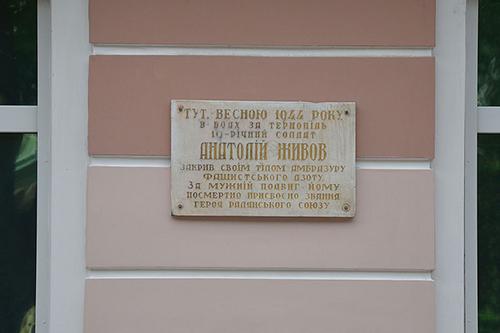 Monument Anatoliy Zhyvov