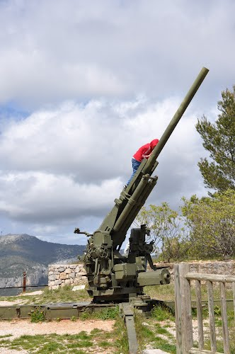 90mm M1 Luchtafweerkanon Mont Faron