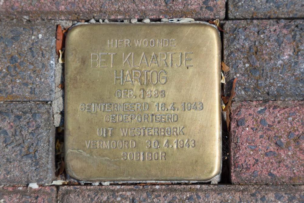 Stolperstein Hofstraat 11