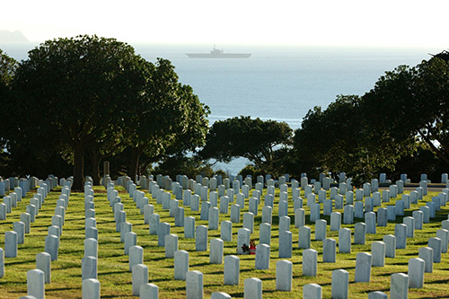 American War Graves Fort Rosecrans National Cemetery