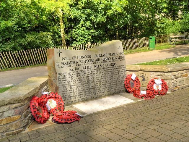 Monument 1st Battalion Welsh Guards