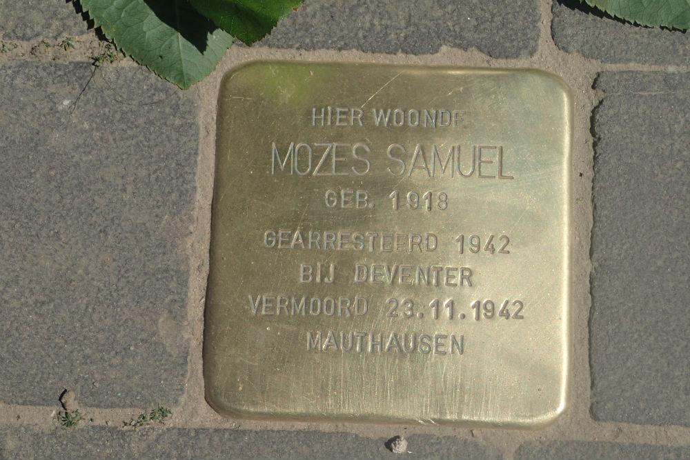 Stolperstein Diepenveenseweg 279 (nu nr. 4)