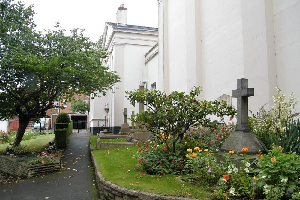 Oorlogsgraf van het Gemenebest St. Marys the Mount Roman Catholic Churchyard