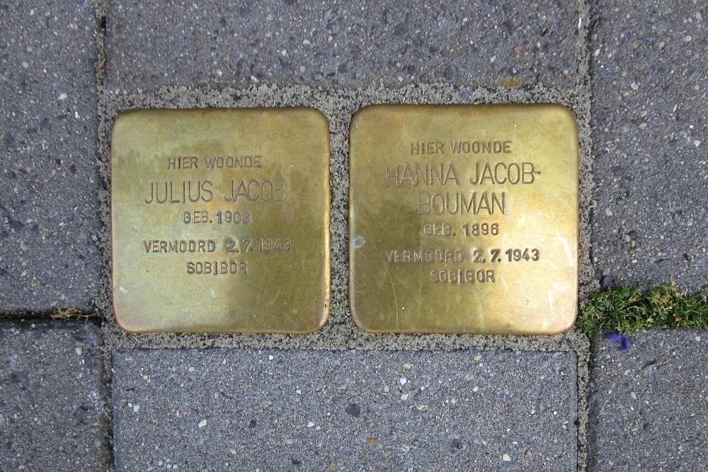 Herdenkingsstenen Kruisstraat 27