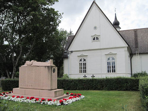 Mass Grave Finnish Soldiers Marttila