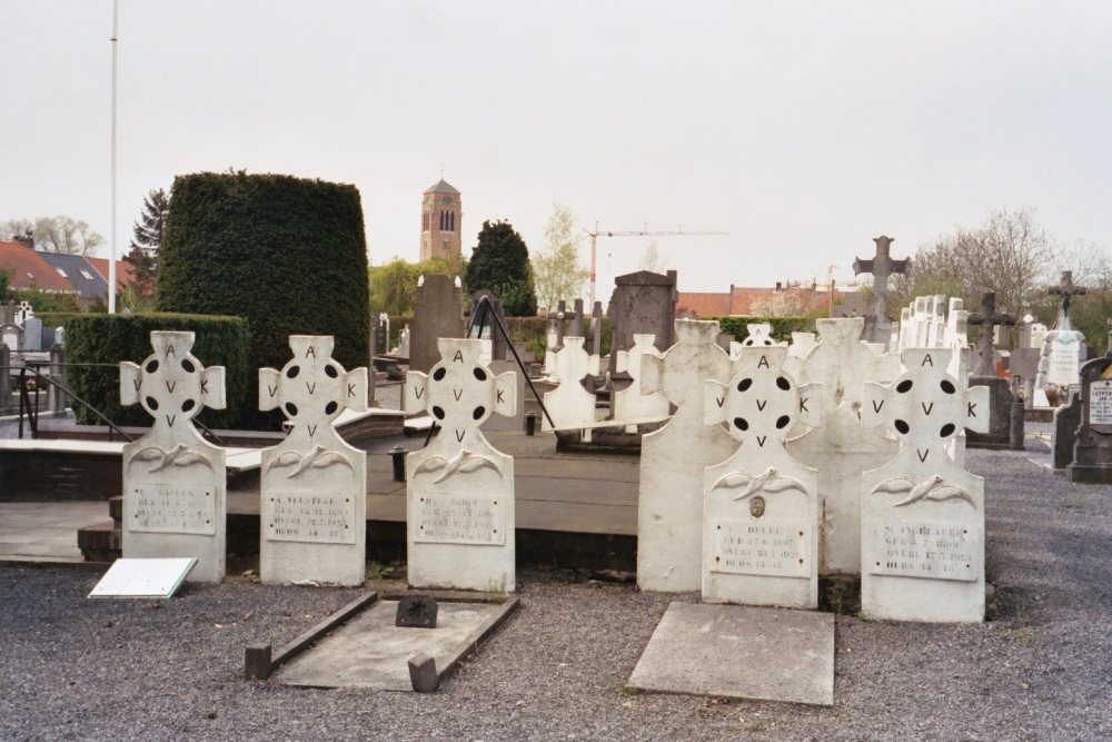 Graven Oudstrijders Zonnebeke