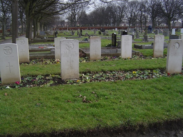 Commonwealth War Graves Hartlepool West View Cemetery