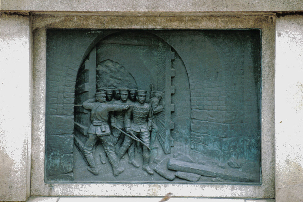 Plaquettes Oorlogscenes Yasakuni