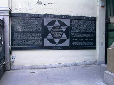 Jewish Memorial Milan