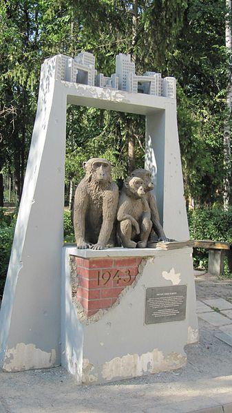 Memorial Three Apes
