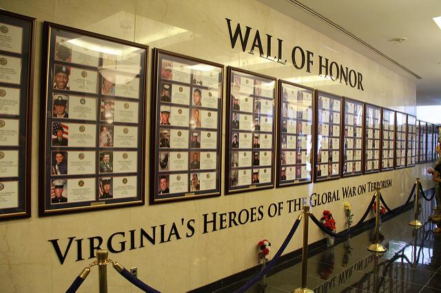 Wall of Honor Virginia