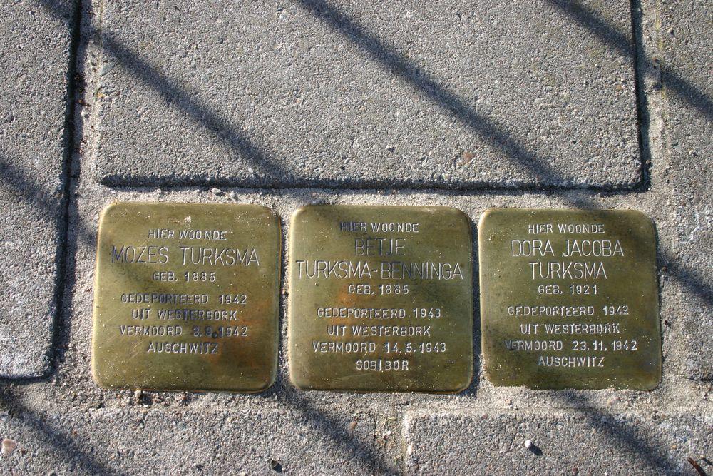 Stumbling Stones Stationsweg 113a