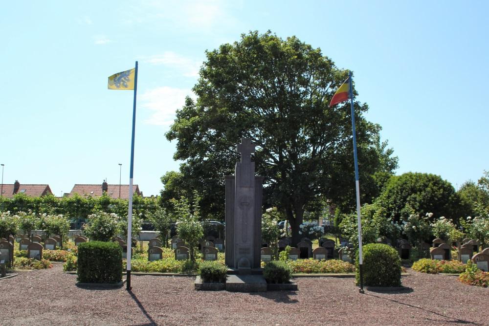 Oorlogsmonument Begraafplaats Middelkerke