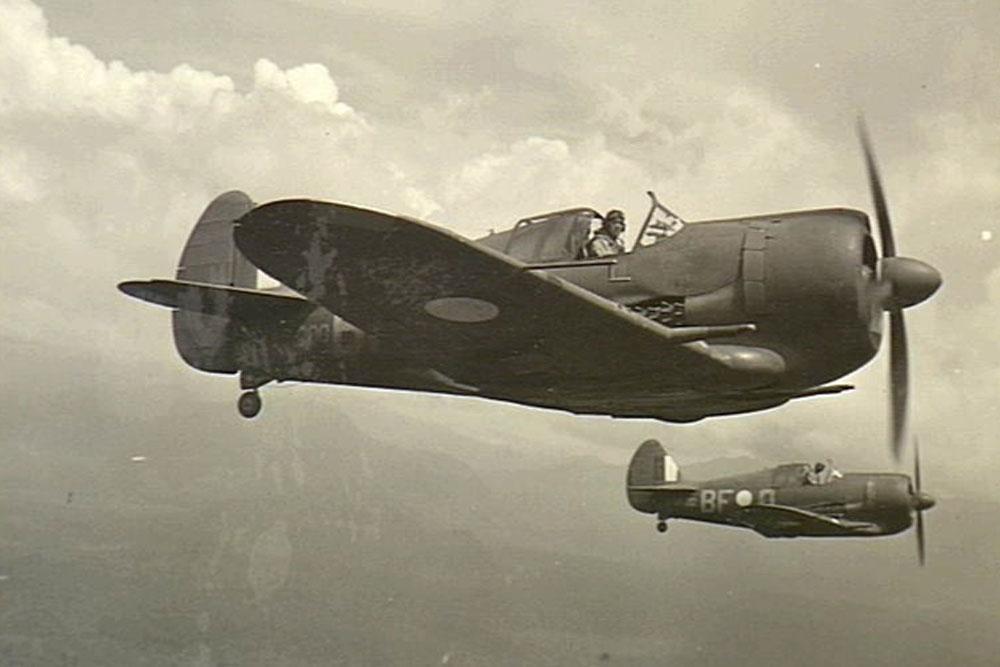 Crashlocatie & Restant F4U-1D Corsair NZ5402