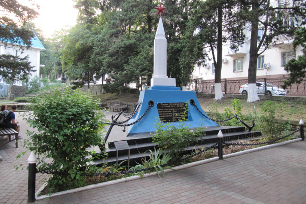 Mass Grave Soviet Soldiers Tuapse