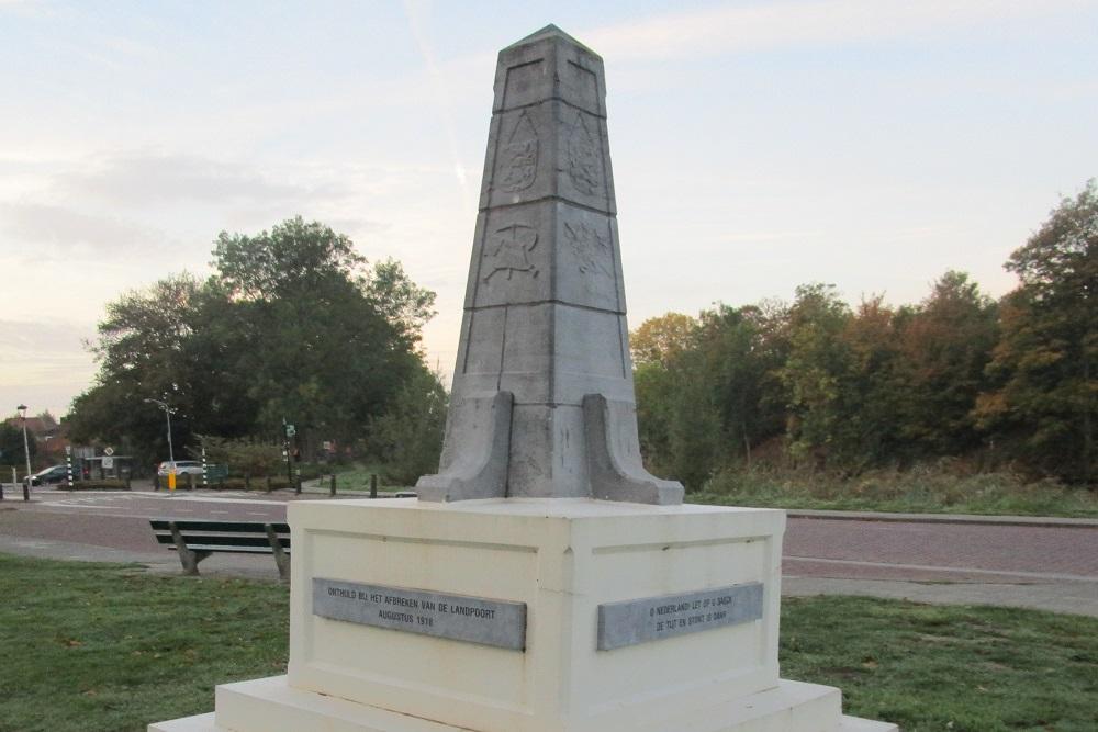 Monument Mobilisatie 1914-1918
