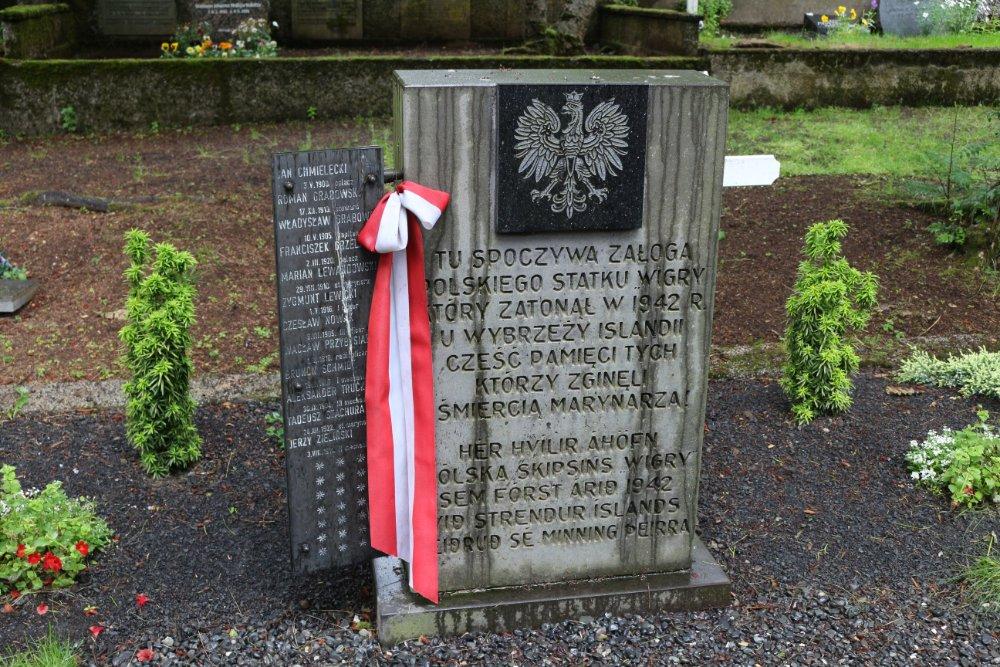 Massagraf Poolse Soldaten Reykjavik