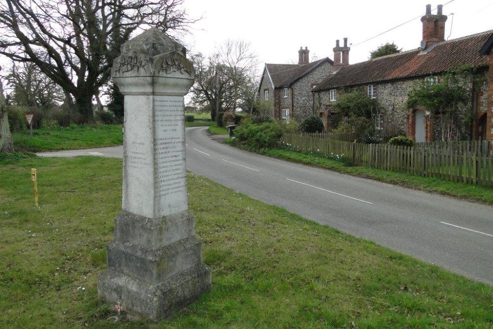 War Memorial Higham