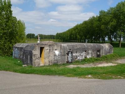 Duitse 622-Bunker Moerdijkbrug