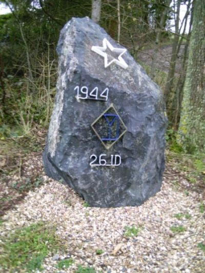 Monument US 26th Infantry Division