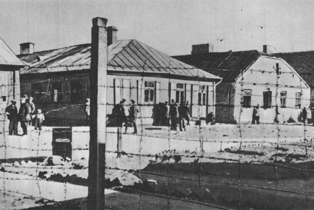 Former Jewish Ghetto Miedzyrzec Podlaski