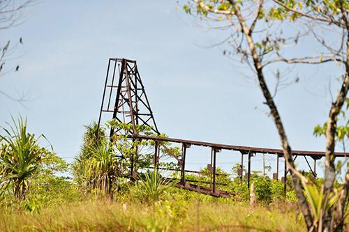 Remains Japanese Radio Tower