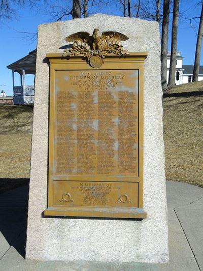 War Memorial Millbury